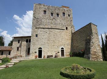 foto van Castello di Tornano