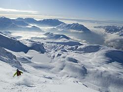 L'Alpe d'Huez (© Alpe d'Huez Tourisme)