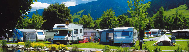 Campings in de Alpen