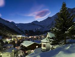 Skigebiet Freie Ferienrepublik Saas-Fee
