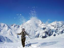 Skigebiet Sulden am Ortler