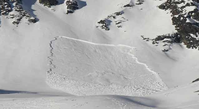 Schneebrettlawinen sind die häufigste Gefahr für Skifahrer