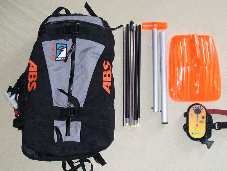 Lawinenschutzausrüstung