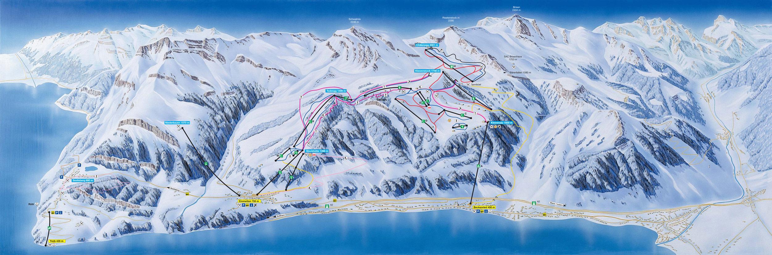 Beckenried Switzerland  city photos : Beckenried & Emmetten | skiing in Switzerland