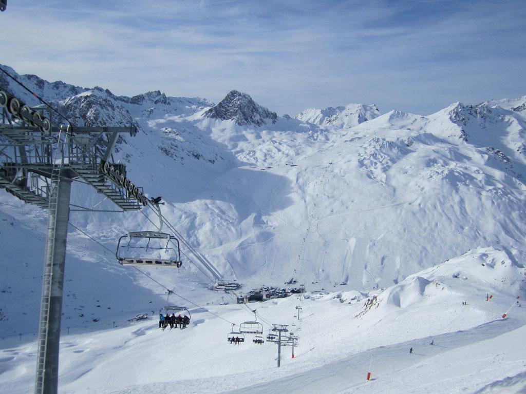 skiing tignes ski holidays in