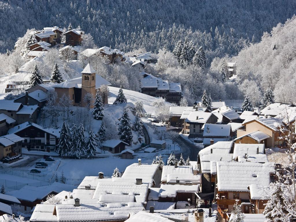Champagny en Vanoise Skigebied Champagny en Vanoise