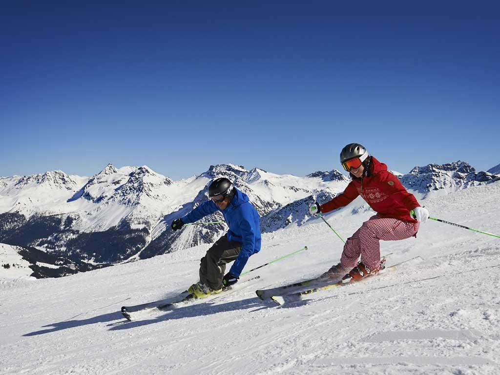 Ski lift crestas lenzerheide webcam