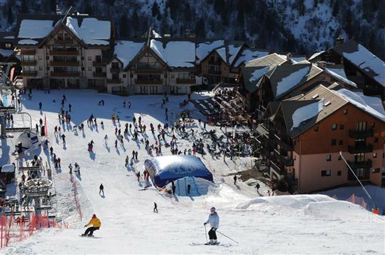 Valmeinier (Savoie)   Wintersport: www.snowplaza.nl/frankrijk/valloire-en-valmeinier/valmeinier