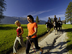 Nordic Walking in de Alpen