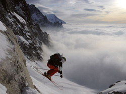 Off-piste en freeride in Chamonix
