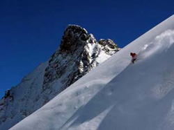 Off-piste en freeride in La Grave