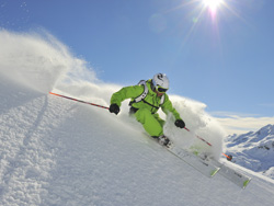 Off-piste en freeride in St. Anton