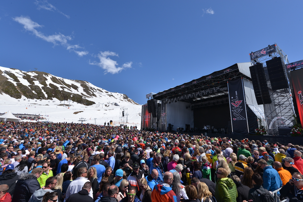 Top of the Mountain concert Ischgl