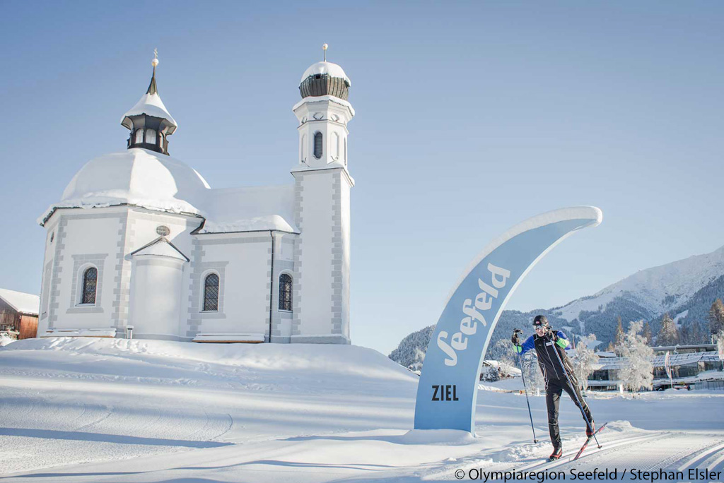 Cross-country skiing Seefeld