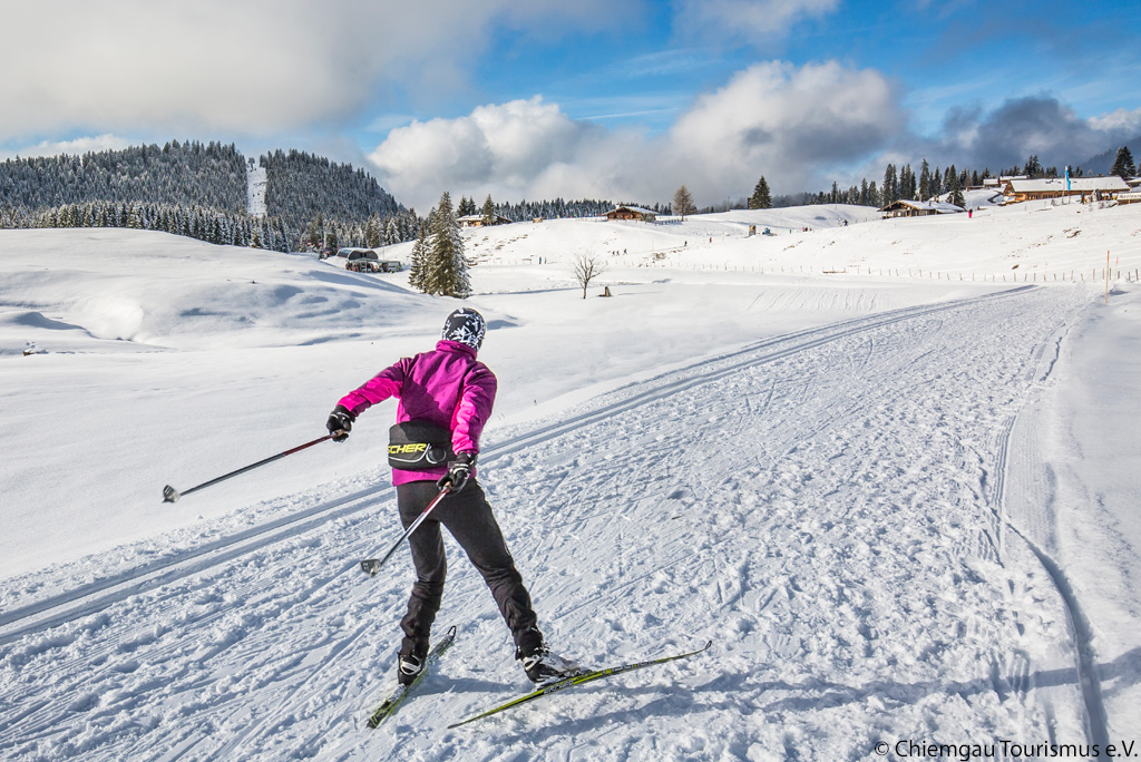 Cross-country skiing Winklmoosalm