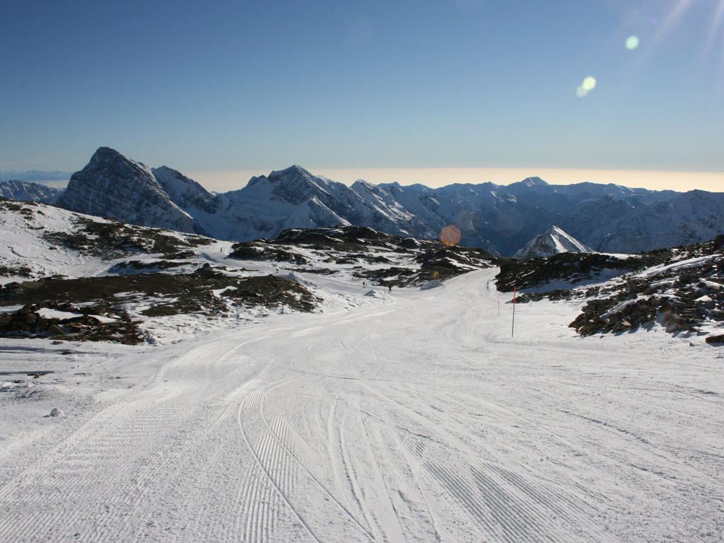 Monte rosa skiing in italy for Montre rosra