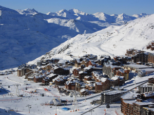 beste restaurants aan de piste in Val Thorens