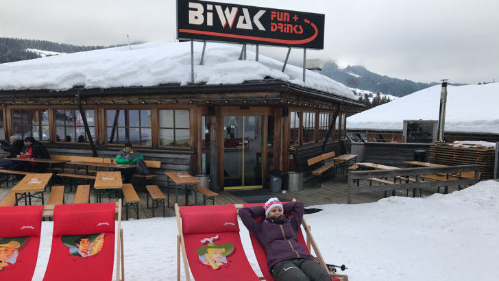 Après-ski bar Biwak in Fieberbrunn
